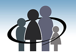 encircled family graphic